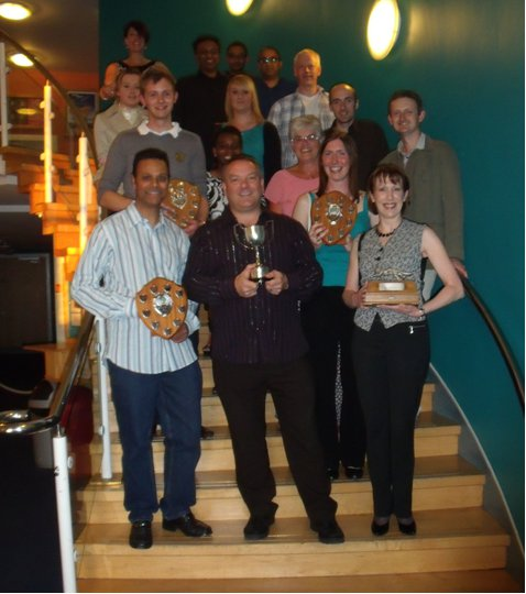 Trophies and Team Captains 2010-2011