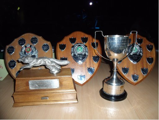 Trophies for 2010-11 Season